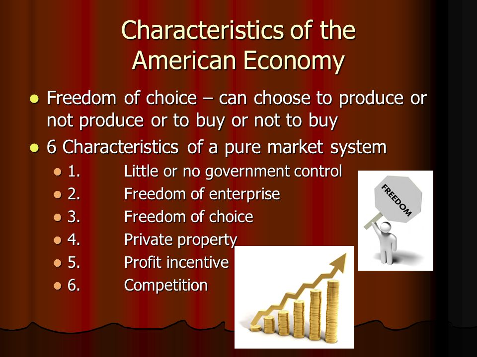 Chapter 2 economic systems the american economy ppt for 6 characteristics of bureaucracy