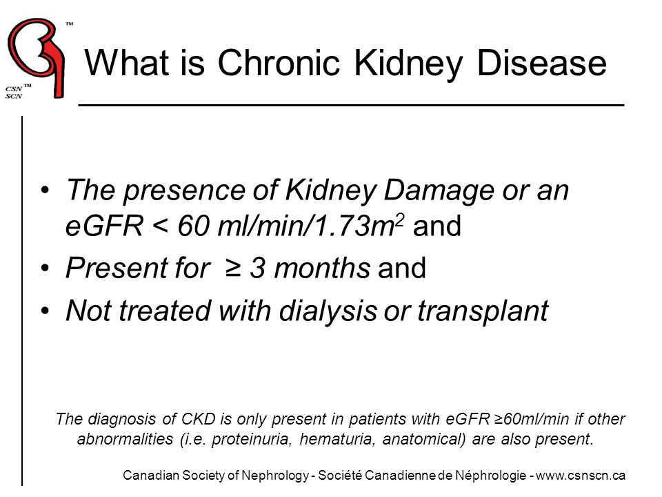 What is Chronic Kidney Disease