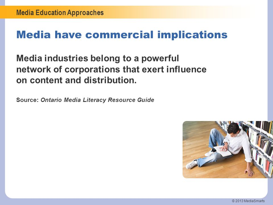Media have commercial implications