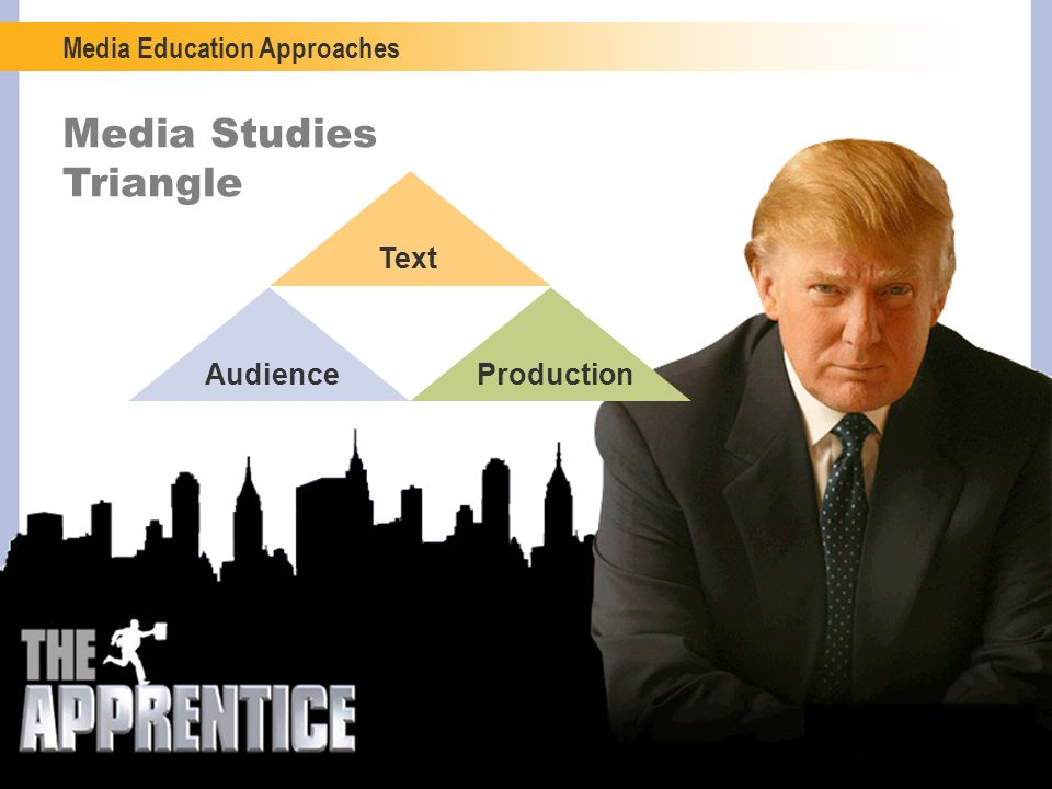 Media Studies Triangle