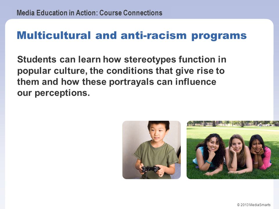Multicultural and anti-racism programs