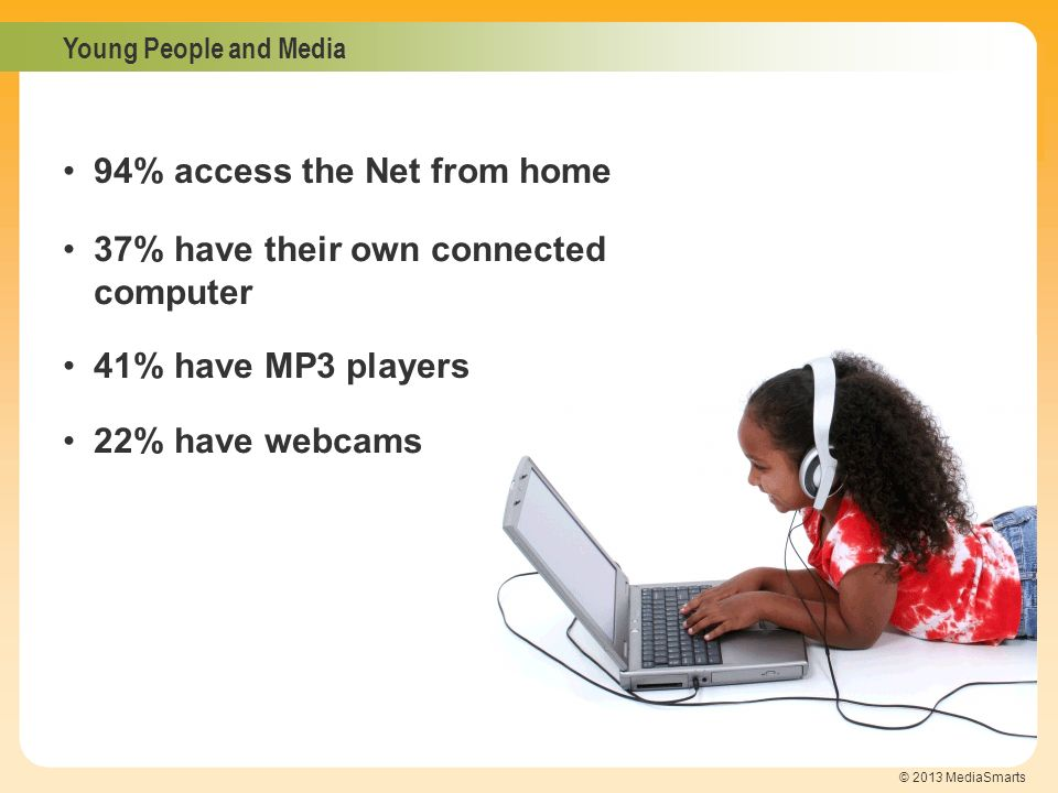 94% access the Net from home