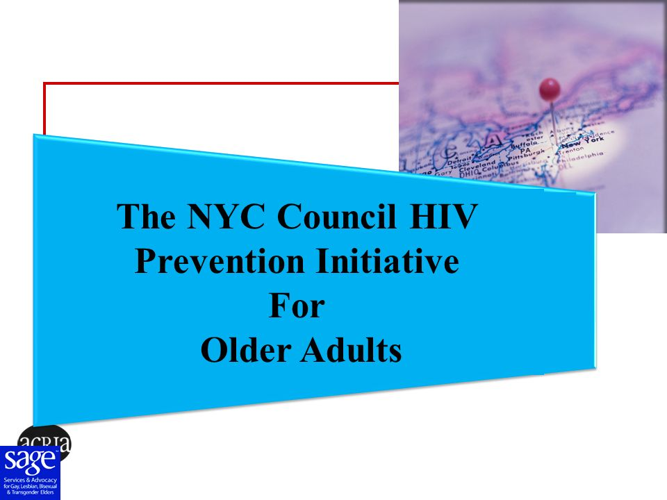 The NYC Council HIV Prevention Initiative For Older Adults