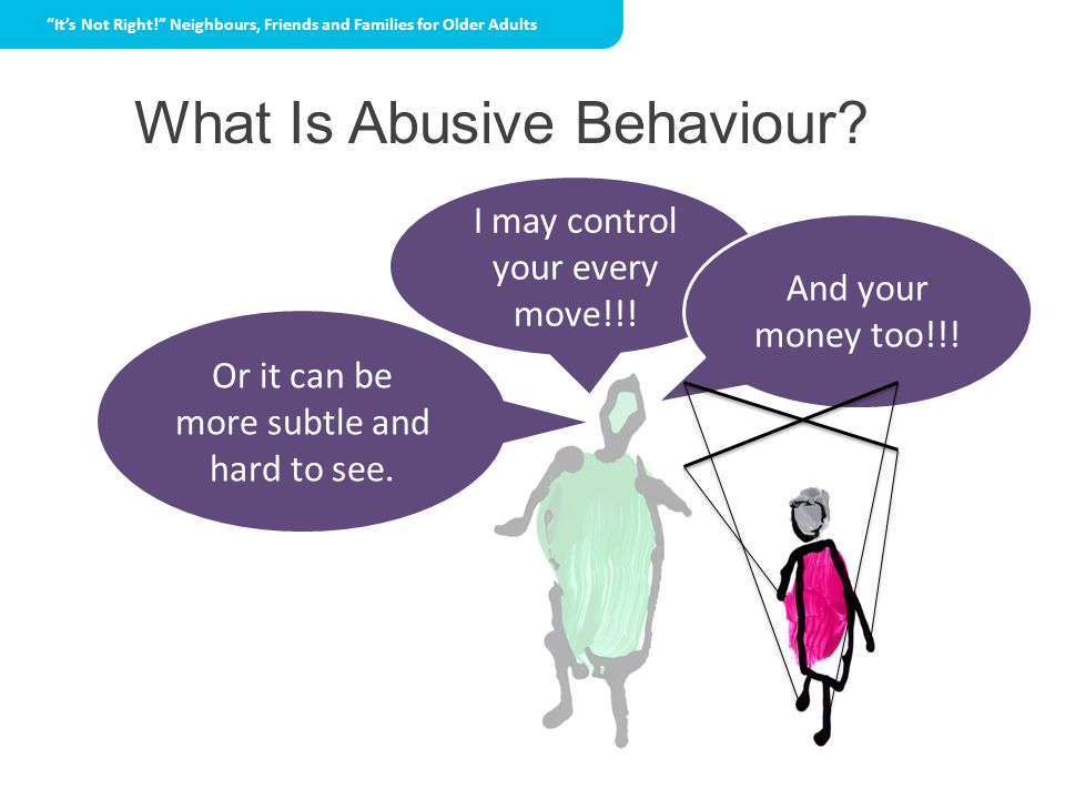 What Is Abusive Behaviour