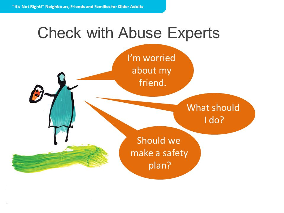 Check with Abuse Experts