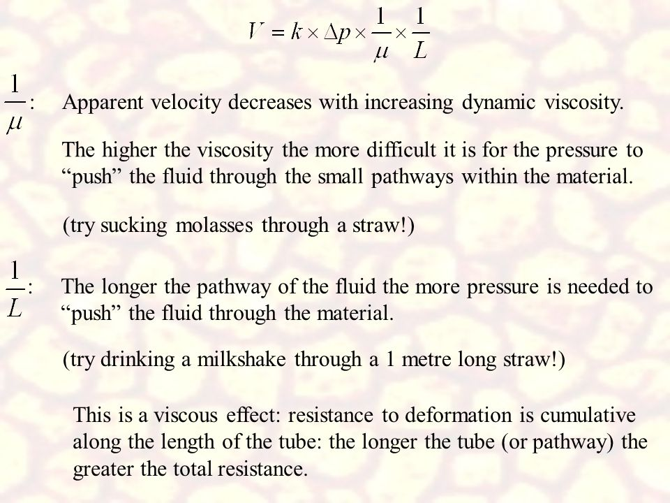 : Apparent velocity decreases with increasing dynamic viscosity.