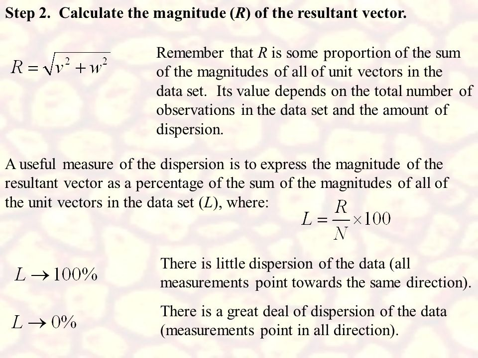 Step 2. Calculate the magnitude (R) of the resultant vector.
