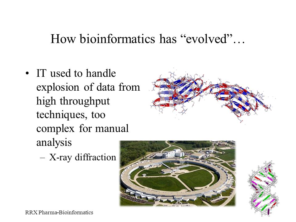 How bioinformatics has evolved …