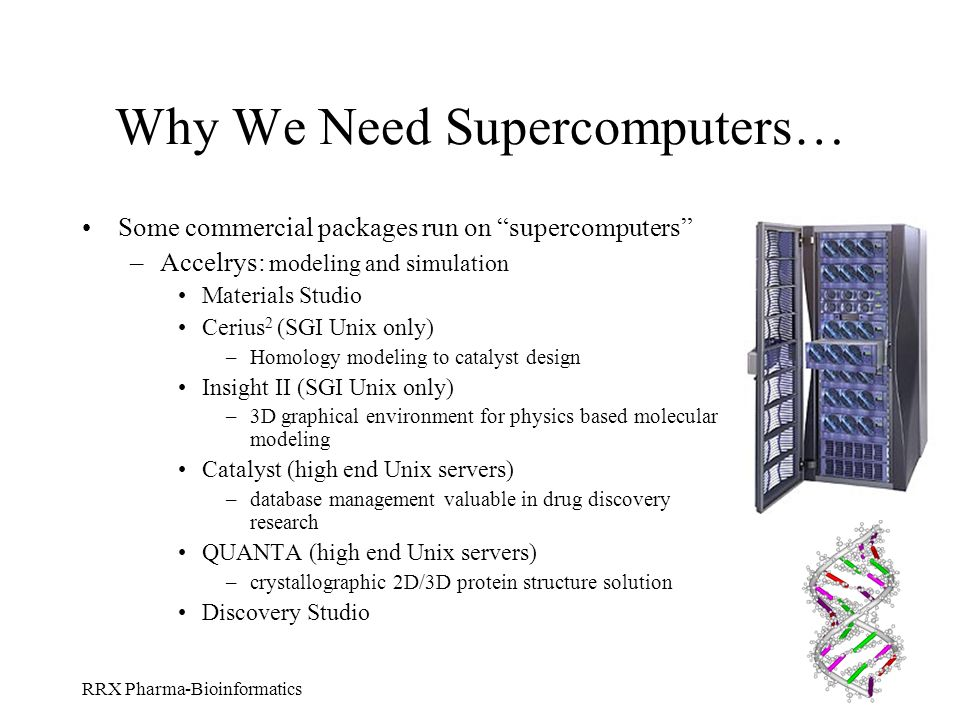 Why We Need Supercomputers…