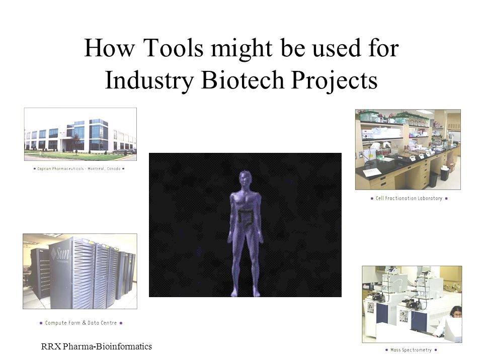 How Tools might be used for Industry Biotech Projects