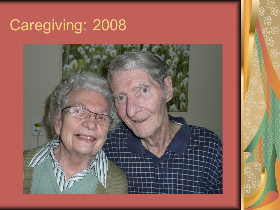 Caregiving: 2008
