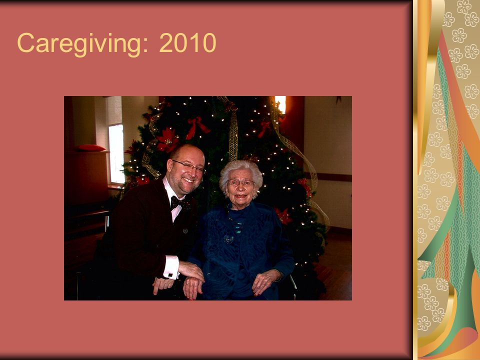 Caregiving: 2010
