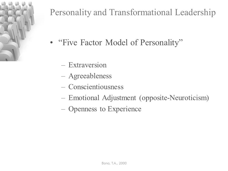 characteristics of transformational leadership pdf