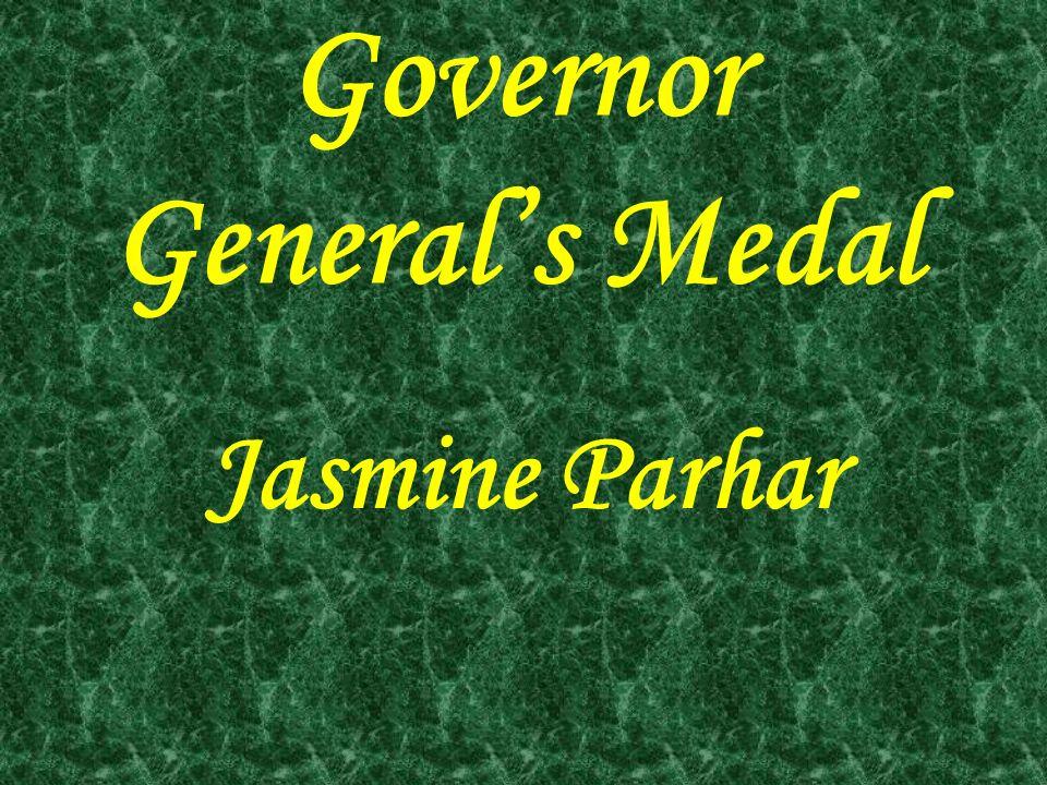 Governor General's Medal