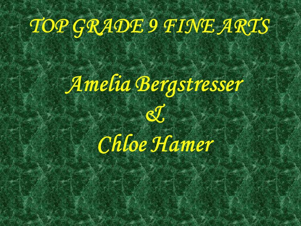 Amelia Bergstresser & Chloe Hamer