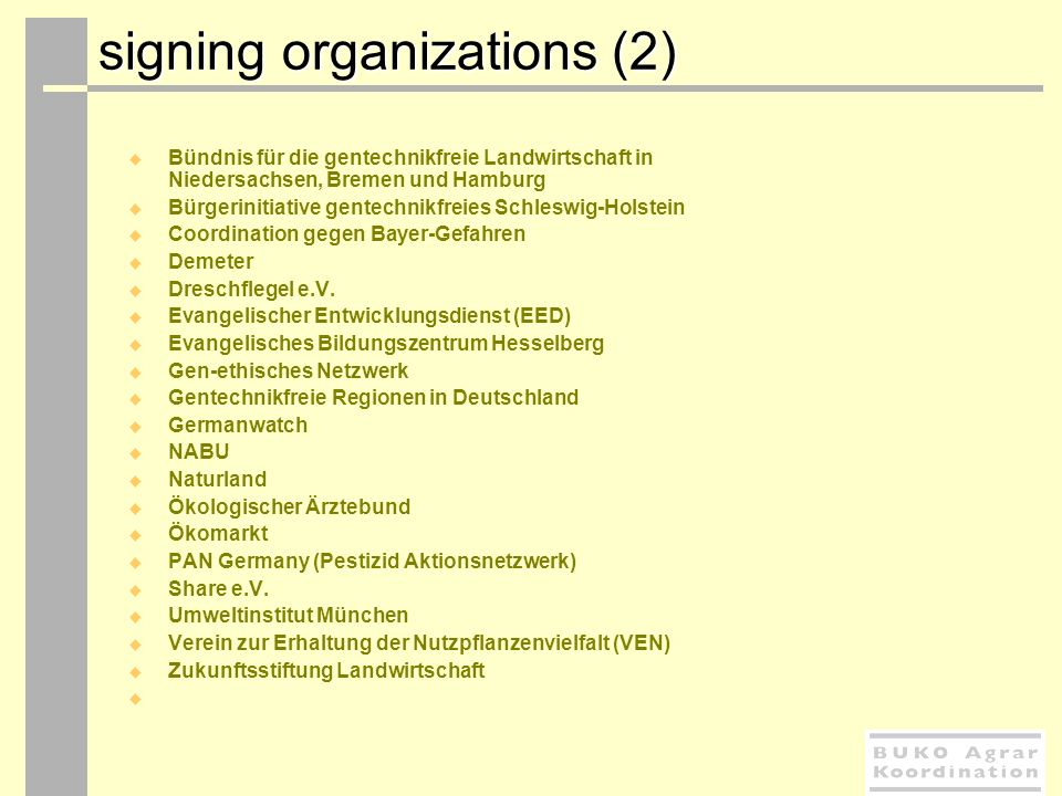 signing organizations (2)