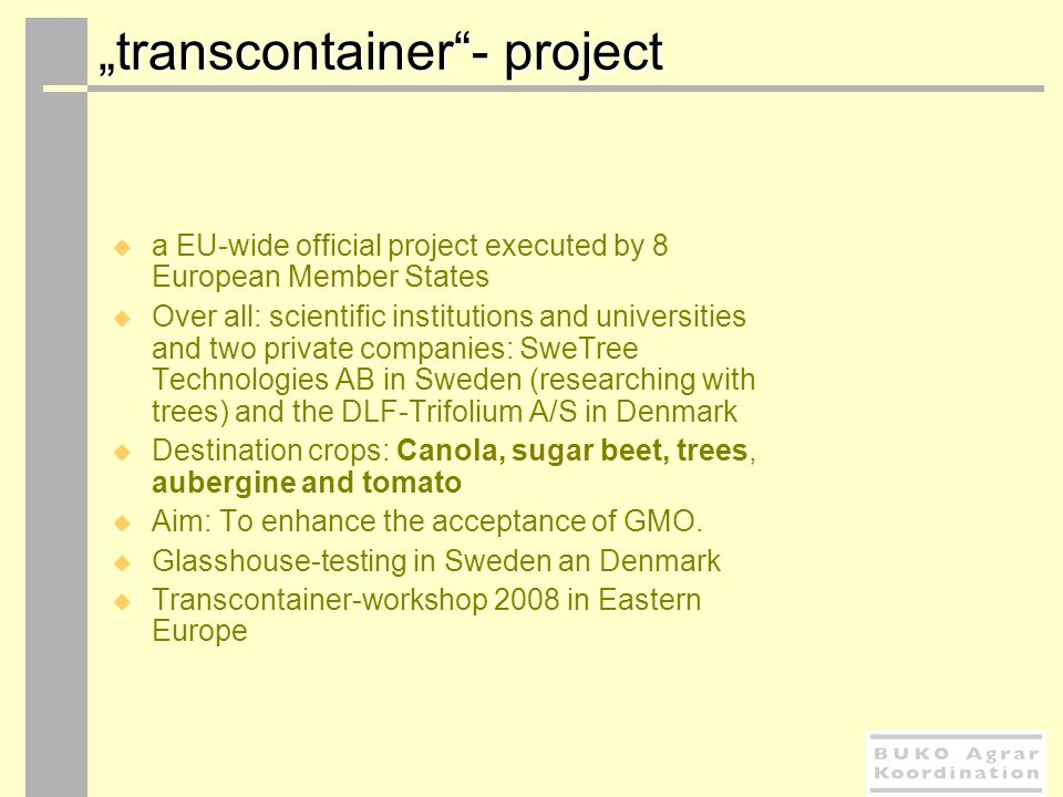 """transcontainer - project"