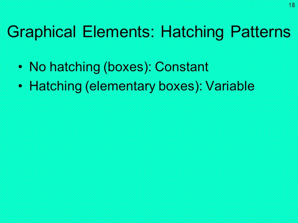 Graphical Elements: Hatching Patterns