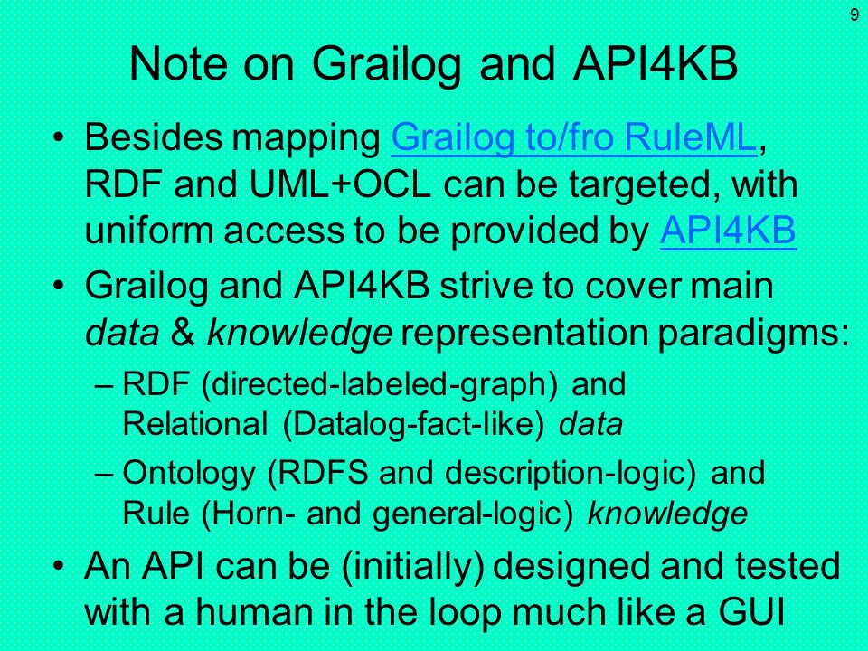 Note on Grailog and API4KB