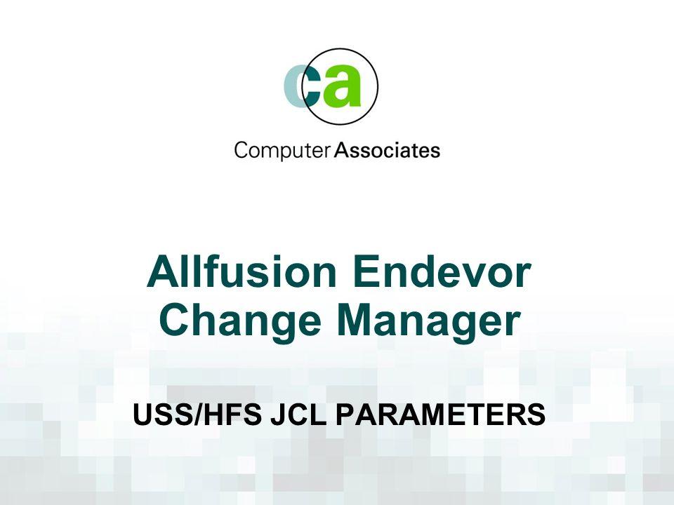 Allfusion Endevor Change Manager