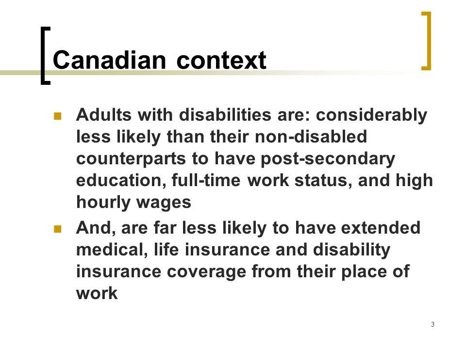 Canadian context