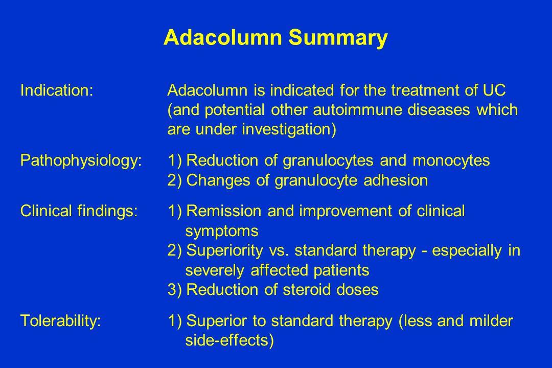 Adacolumn Summary