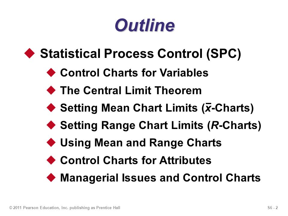 statistical process controll Proper training can increase your chance of success and allow your team to perform at the peak of their abilities learn how spc training can have a positive effect on the quality of your product.