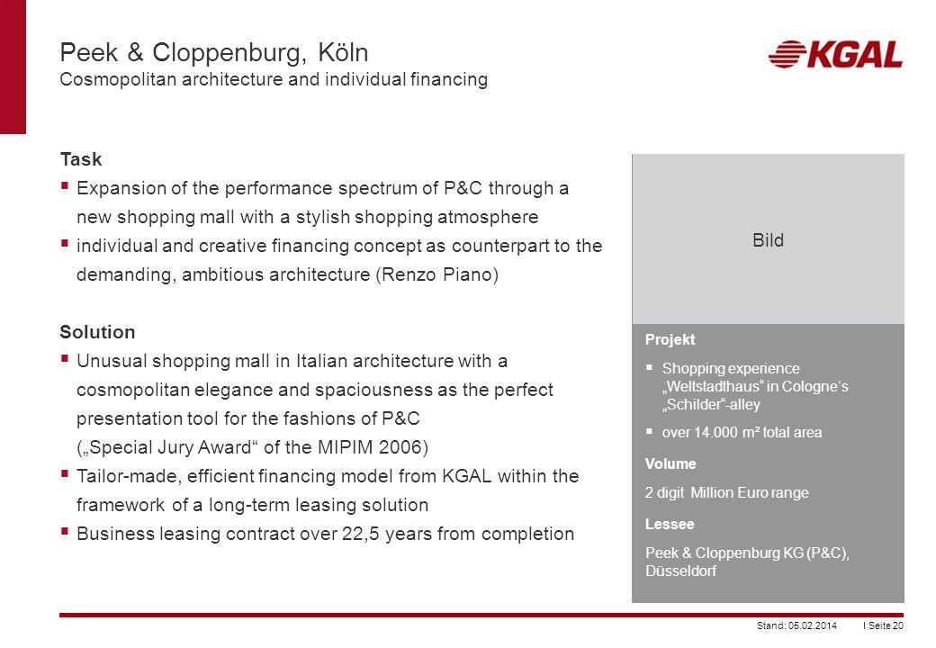 Peek & Cloppenburg, Köln Cosmopolitan architecture and individual financing