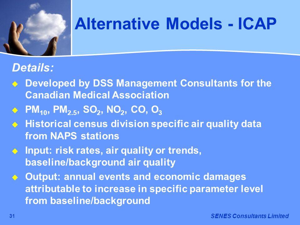 Alternative Models - ICAP
