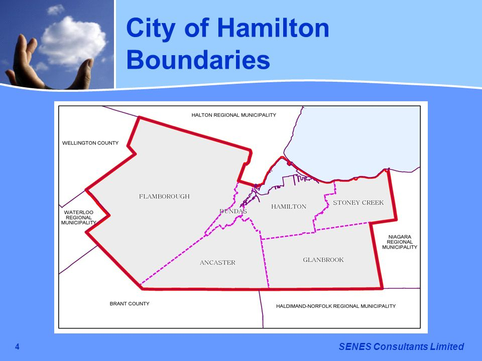 City of Hamilton Boundaries