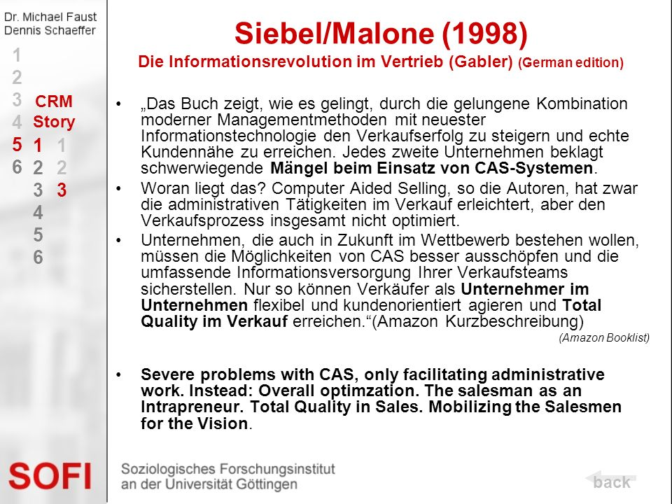 Siebel/Malone (1998) Die Informationsrevolution im Vertrieb (Gabler) (German edition)
