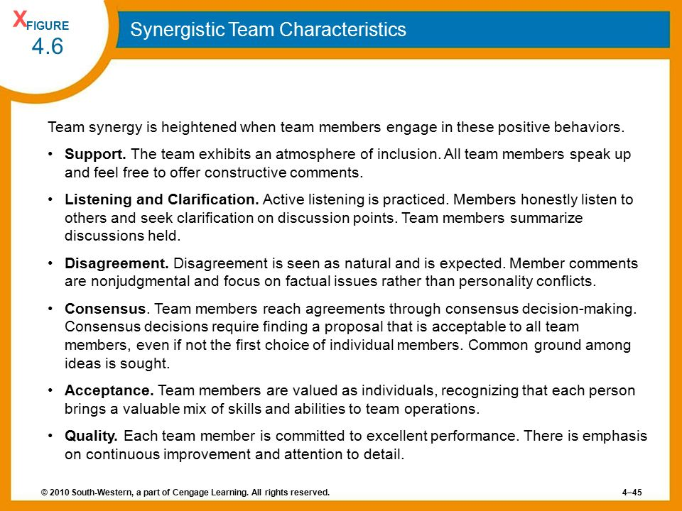 synergistic decision making model