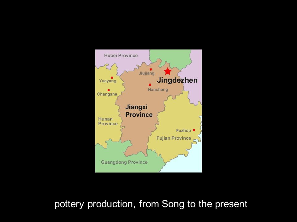 pottery production, from Song to the present