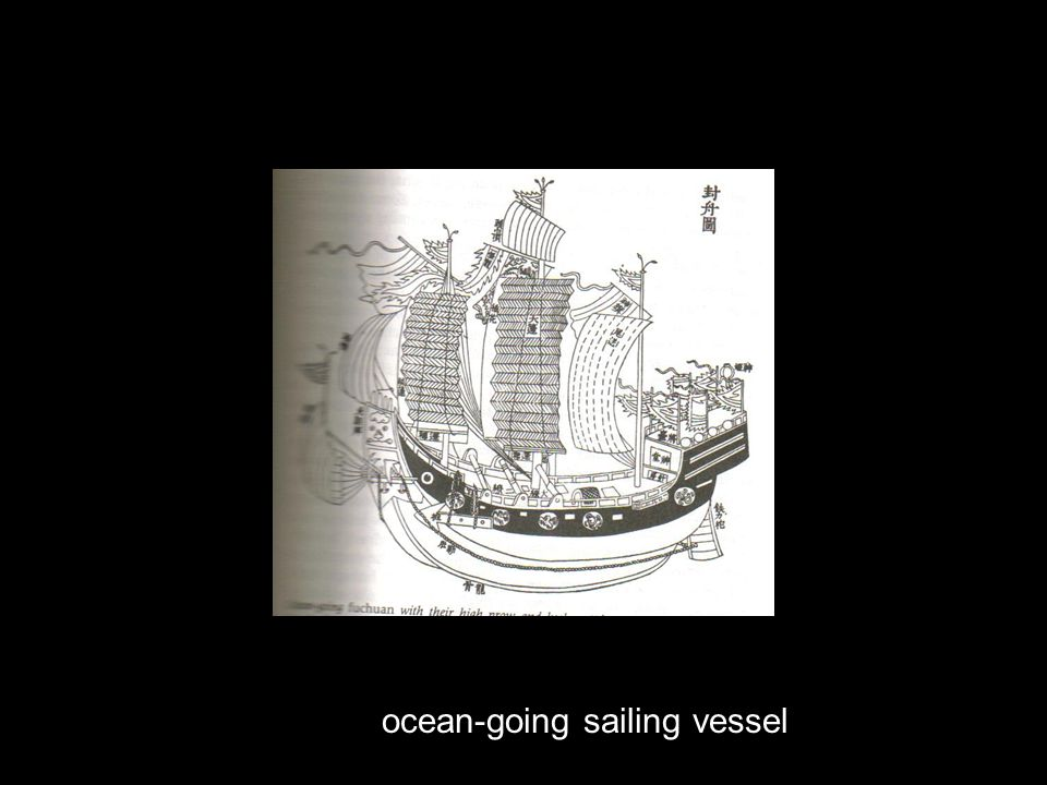 ocean-going sailing vessel