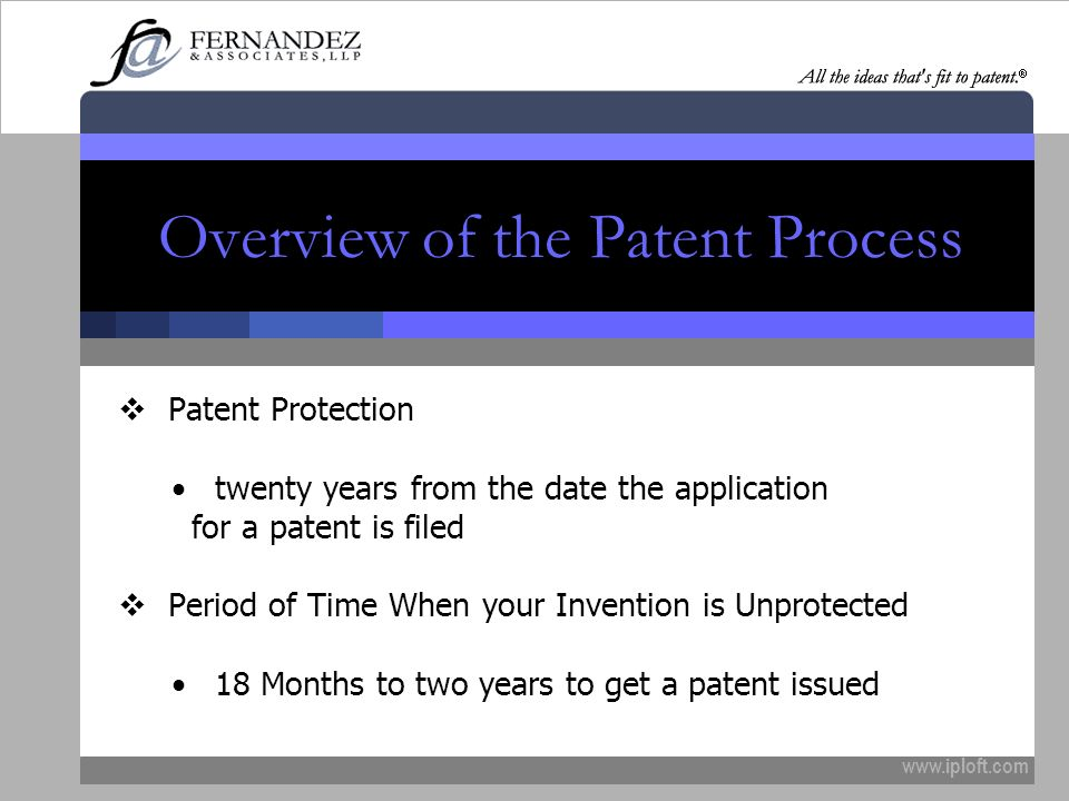 Overview of the Patent Process