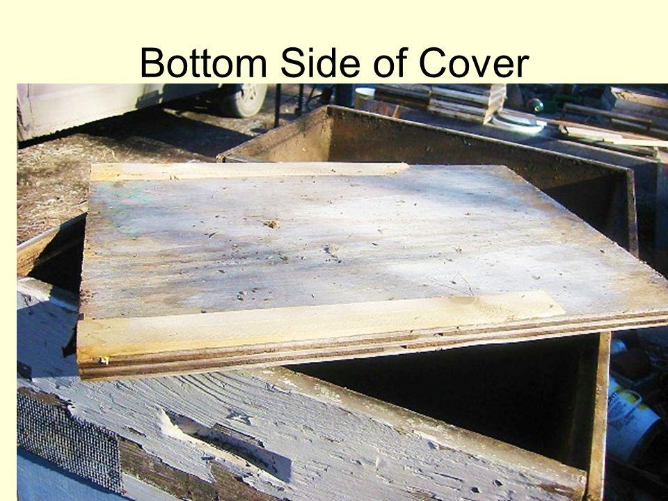 Bottom Side of Cover