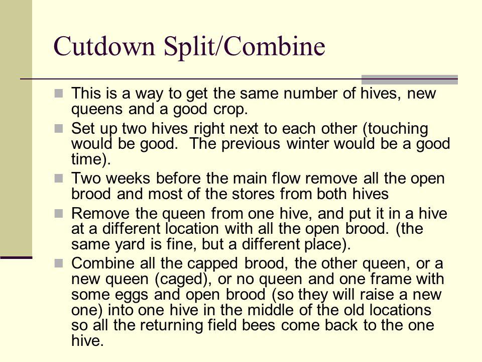 Cutdown Split/Combine