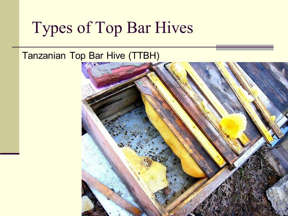 Types of Top Bar Hives Tanzanian Top Bar Hive (TTBH)