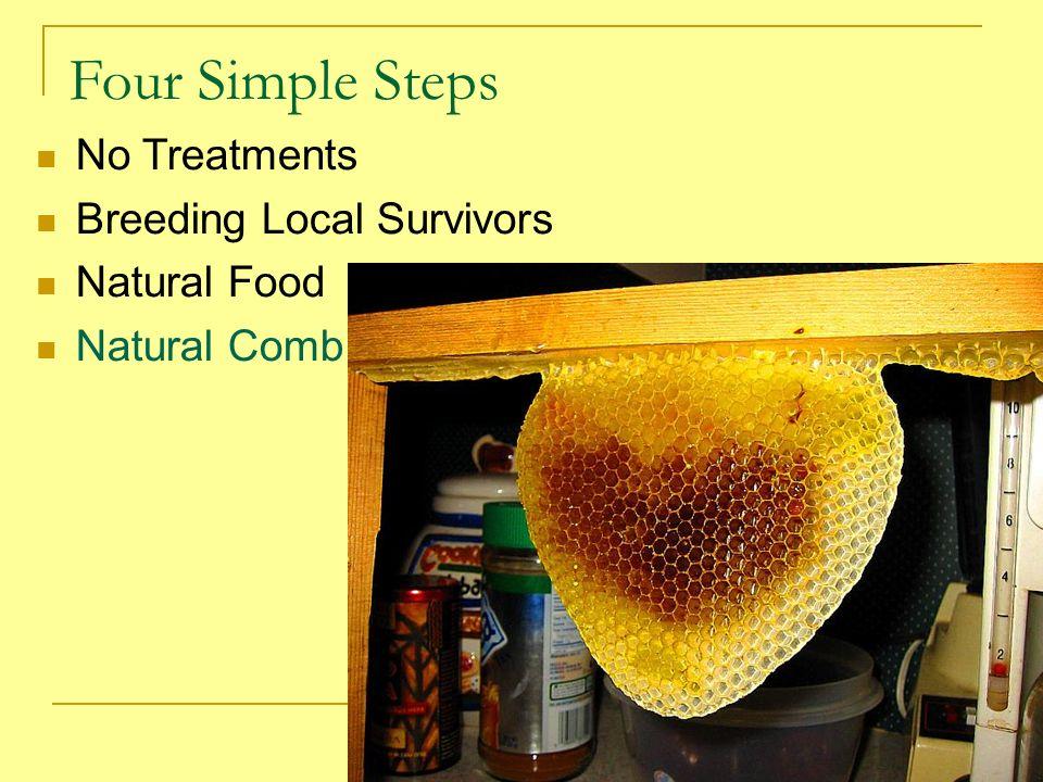 Four Simple Steps No Treatments Breeding Local Survivors Natural Food