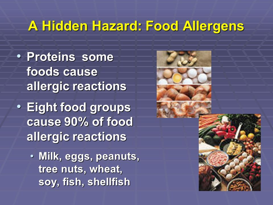 A Hidden Hazard: Food Allergens