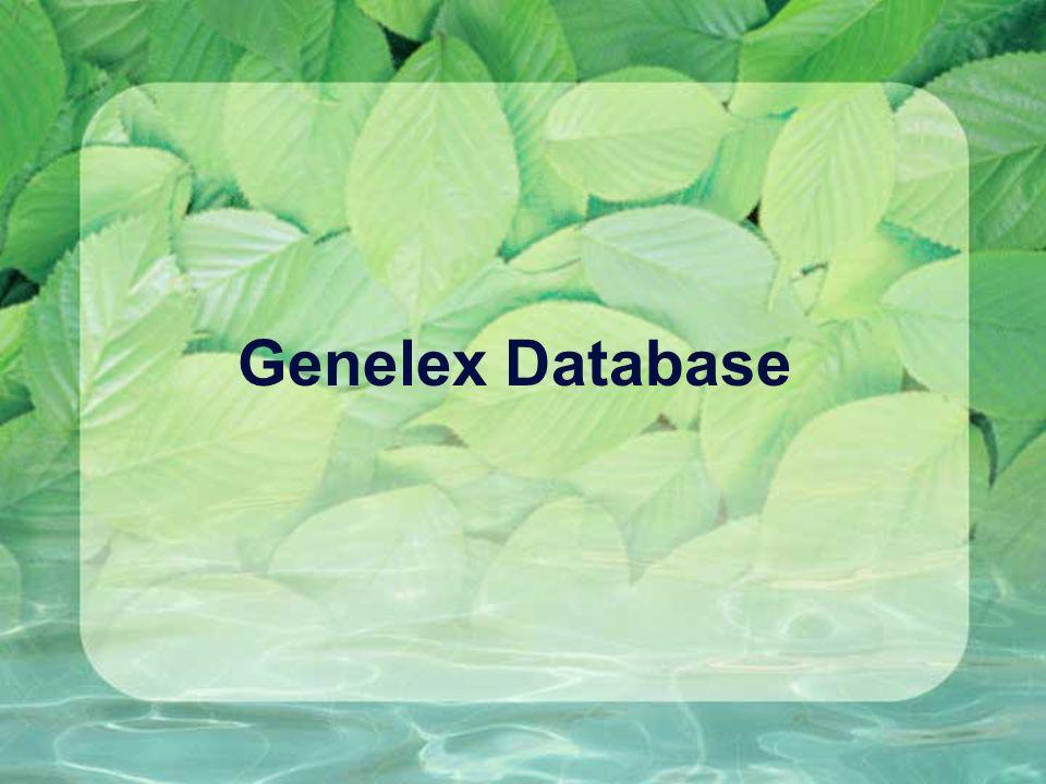 Genelex Database