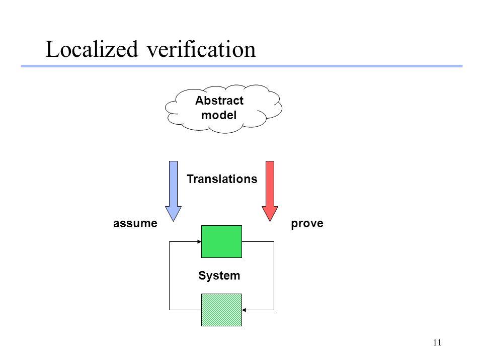 Localized verification