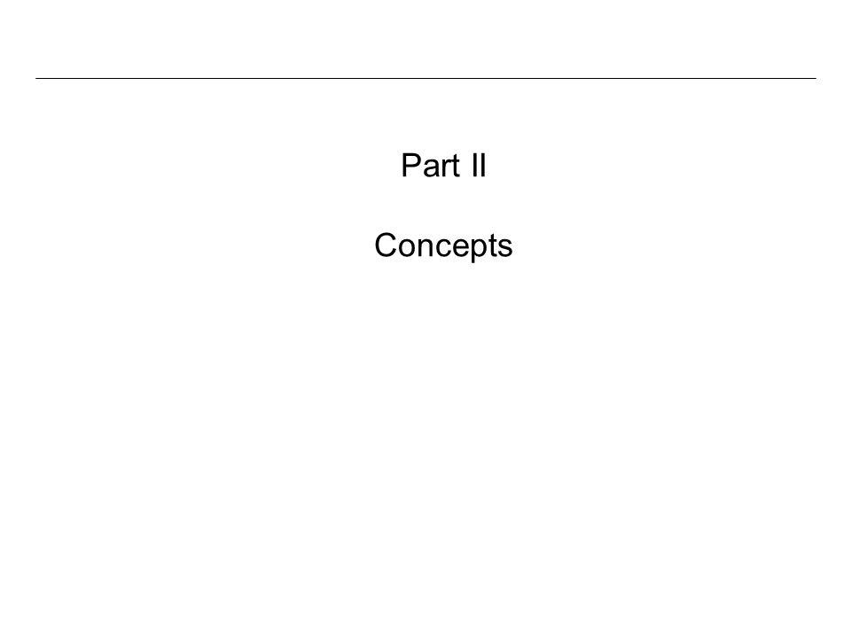 Part II Concepts