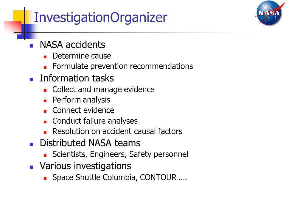 InvestigationOrganizer
