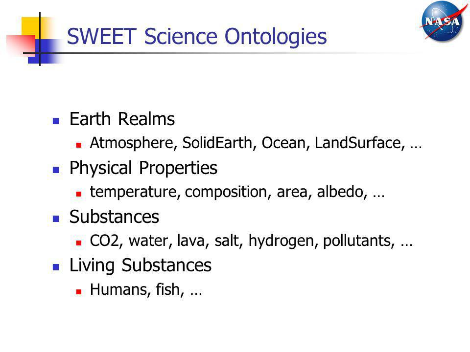 SWEET Science Ontologies
