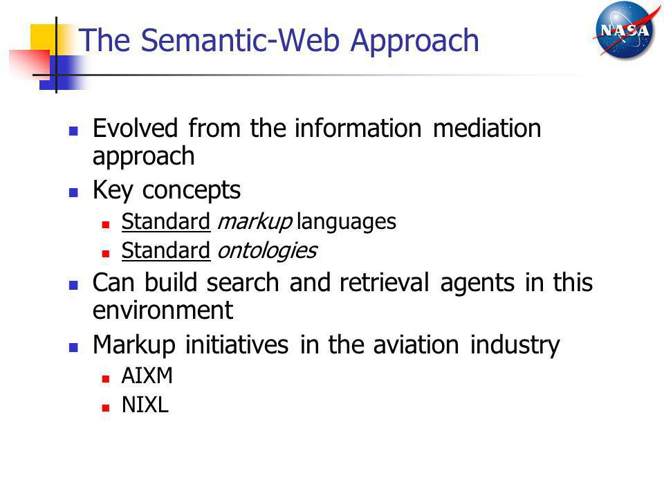The Semantic-Web Approach