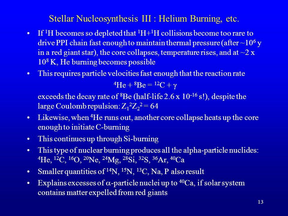 Stellar Nucleosynthesis II : Hydrogen Burning
