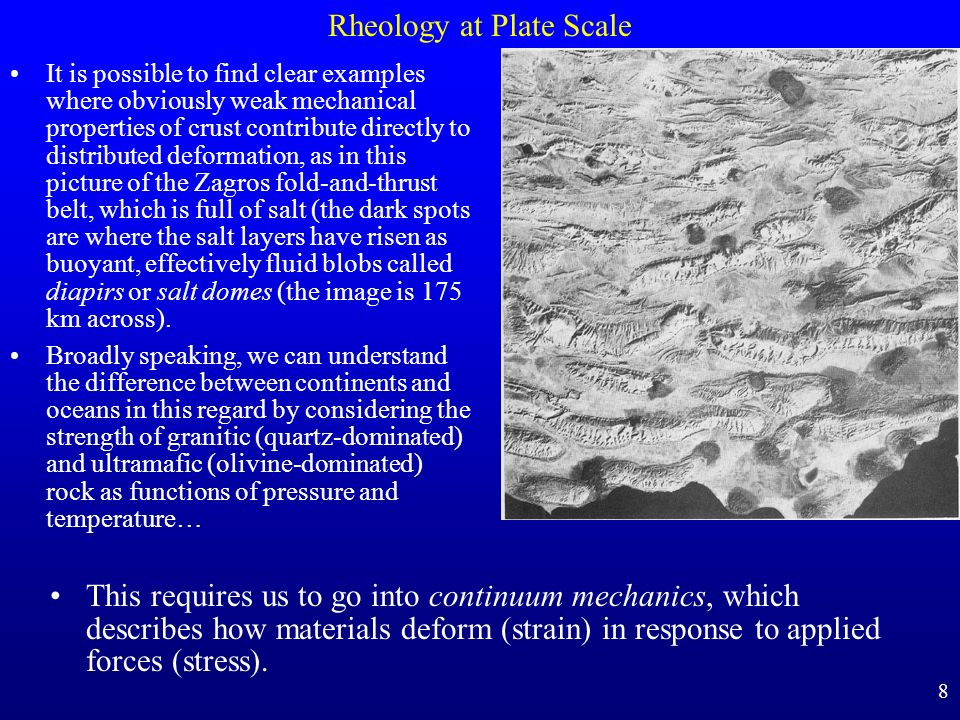 Rheology at Plate Scale