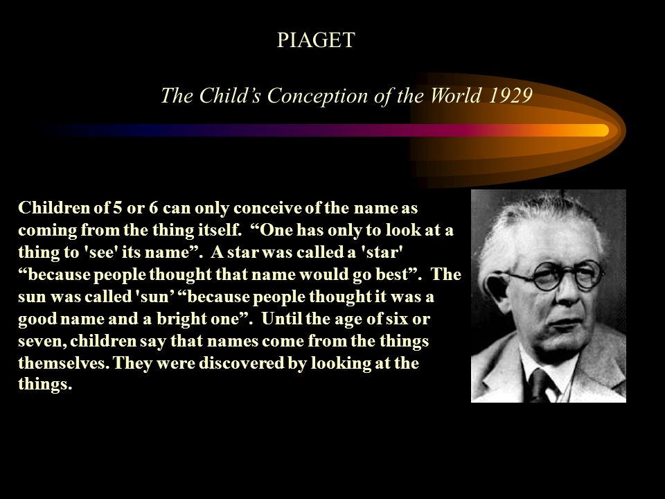 The Child's Conception of the World 1929