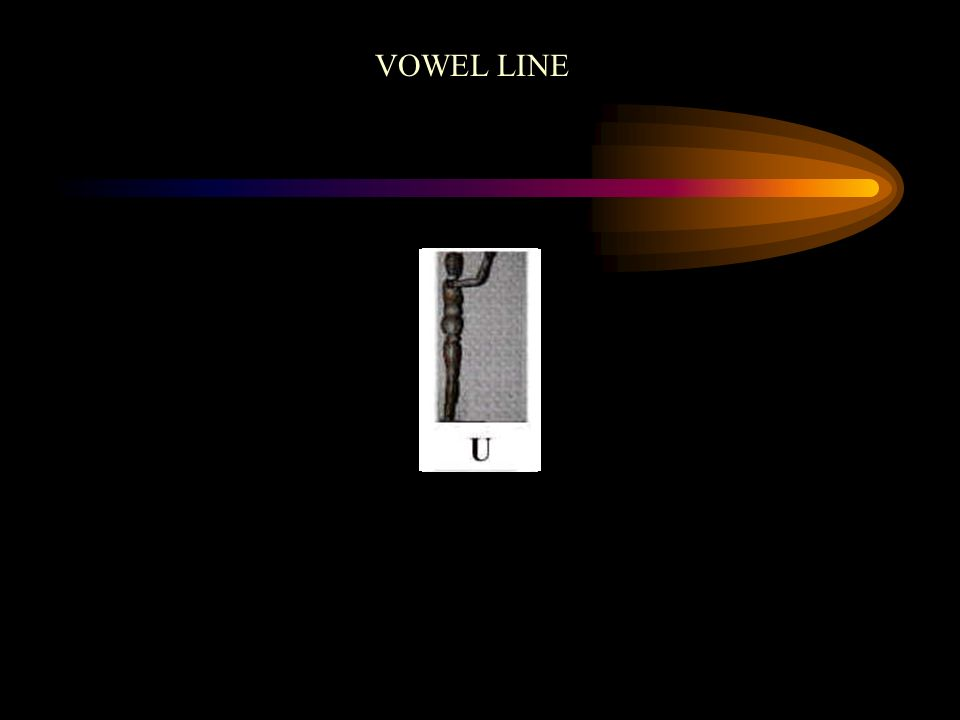 VOWEL LINE